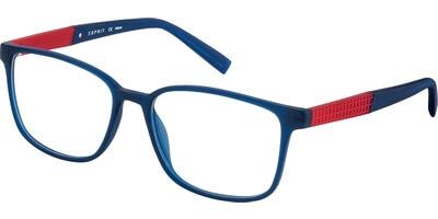 Dioptrické brýle Esprit model 17534, barva obruby modrá mat, stranice červená mat, kód barevné varianty 507.