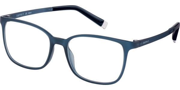 Dioptrické brýle Esprit model 17535, barva obruby modrá mat, stranice modrá mat, kód barevné varianty 543.