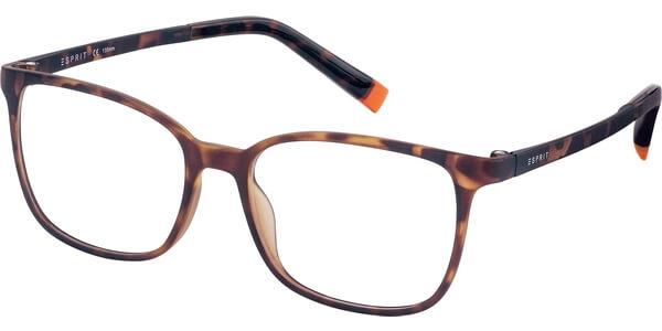 Dioptrické brýle Esprit model 17535, barva obruby hnědá mat, stranice hnědá mat, kód barevné varianty 545.