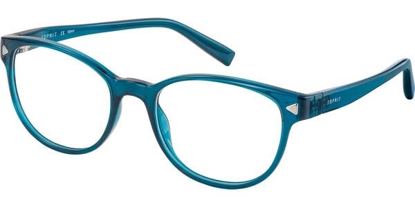 Dioptrické brýle Esprit model 17536, barva obruby tyrkysová lesk, stranice tyrkysová lesk, kód barevné varianty 508.