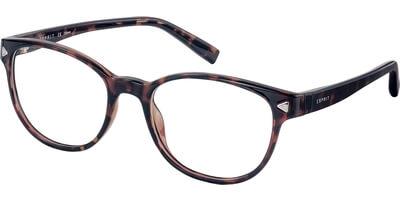 Dioptrické brýle Esprit model 17536, barva obruby hnědá lesk, stranice hnědá lesk, kód barevné varianty 545.
