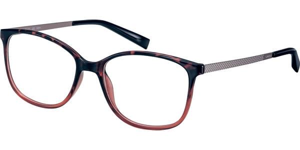 Dioptrické brýle Esprit model 17539, barva obruby vínová lesk, stranice růžová mat, kód barevné varianty 513.