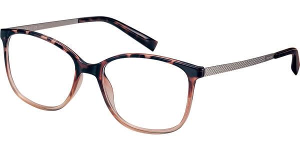 Dioptrické brýle Esprit model 17539, barva obruby hnědá béžová lesk, stranice zlatá mat, kód barevné varianty 545.