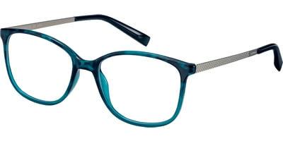 Dioptrické brýle Esprit model 17539, barva obruby zelená lesk, stranice stříbrná mat, kód barevné varianty 547.