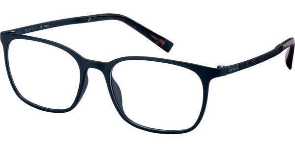 Dioptrické brýle Esprit model 17542, barva obruby černá mat, stranice černá mat, kód barevné varianty 538.