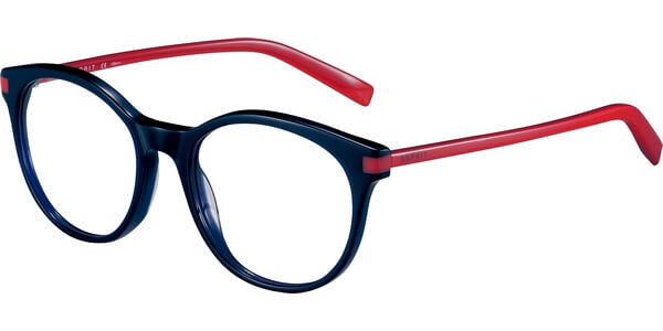 Dioptrické brýle Esprit model 17546, barva obruby modrá lesk, stranice červená lesk, kód barevné varianty 543.