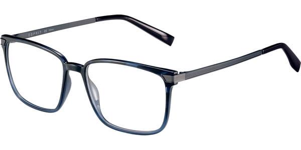 Dioptrické brýle Esprit model 17550, barva obruby modrá lesk, stranice stříbrná mat, kód barevné varianty 543.