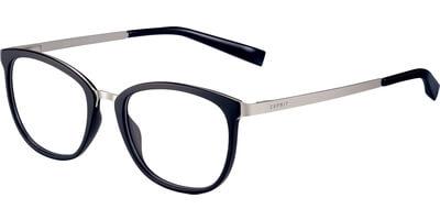 Dioptrické brýle Esprit model 17553, barva obruby černá stříbrná mat, stranice stříbrná mat, kód barevné varianty 538.