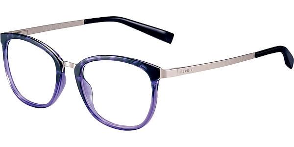 Dioptrické brýle Esprit model 17553, barva obruby černá stříbrná mat, stranice stříbrná mat, kód barevné varianty 577.