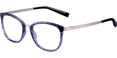 Dioptrické brýle Esprit model 17553, barva obruby fialová stříbrná lesk, stranice stříbrná mat, kód barevné varianty 577.