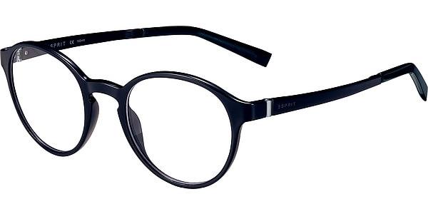Dioptrické brýle Esprit model 17558, barva obruby černá mat, stranice černá lesk, kód barevné varianty 538.