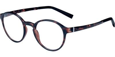 Dioptrické brýle Esprit model 17558, barva obruby hnědá lesk, stranice hnědá lesk, kód barevné varianty 545.