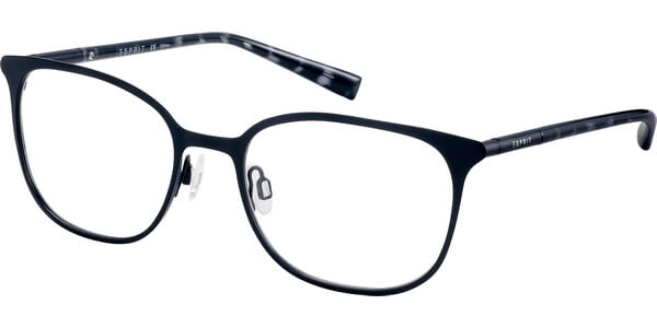 Dioptrické brýle Esprit model 17560, barva obruby černá mat, stranice černá čirá lesk, kód barevné varianty 538.
