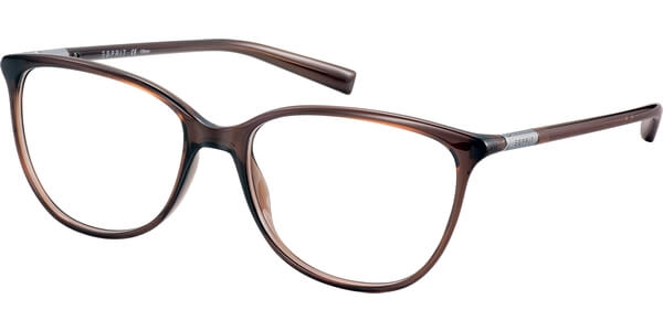 Dioptrické brýle Esprit model 17561, barva obruby hnědá lesk, stranice hnědá lesk, kód barevné varianty 535.