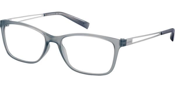 Dioptrické brýle Esprit model 17562, barva obruby šedá čirá mat, stranice stříbrná lesk, kód barevné varianty 505.