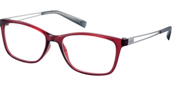 Dioptrické brýle Esprit model 17562, barva obruby červená lesk, stranice stříbrná lesk, kód barevné varianty 531.