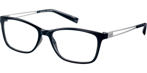 Dioptrické brýle Esprit model 17562, barva obruby černá lesk, stranice stříbrná lesk, kód barevné varianty 538.