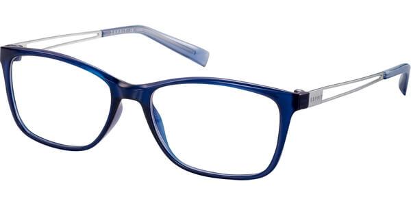 Dioptrické brýle Esprit model 17562, barva obruby modrá lesk, stranice stříbrná lesk, kód barevné varianty 543.