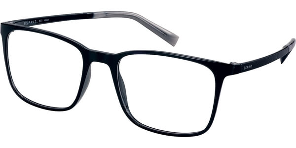 Dioptrické brýle Esprit model 17564, barva obruby černá lesk, stranice černá lesk, kód barevné varianty 538.