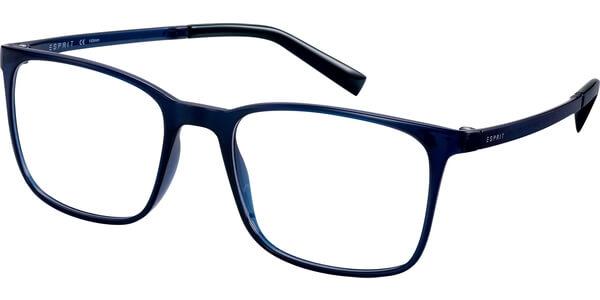 Dioptrické brýle Esprit model 17564, barva obruby modrá lesk, stranice modrá lesk, kód barevné varianty 543.
