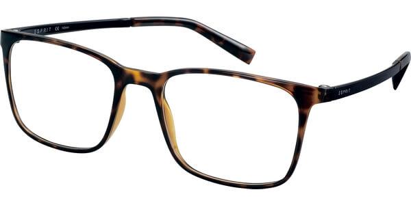 Dioptrické brýle Esprit model 17564, barva obruby hnědá lesk, stranice hnědá lesk, kód barevné varianty 545.
