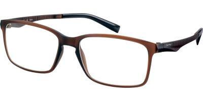 Dioptrické brýle Esprit model 17565, barva obruby hnědá mat, stranice hnědá mat, kód barevné varianty 535.
