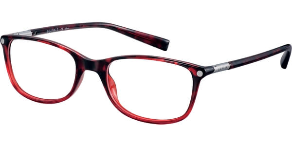 Dioptrické brýle Esprit model 17566, barva obruby červená lesk, stranice červená lesk, kód barevné varianty 531.