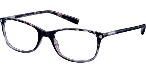 Dioptrické brýle Esprit model 17566, barva obruby hnědá modrá lesk, stranice hnědá lesk, kód barevné varianty 580.