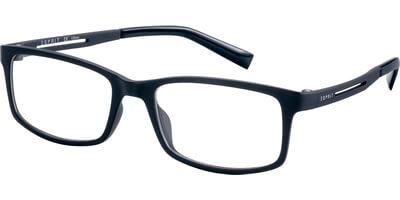Dioptrické brýle Esprit model 17567, barva obruby černá mat, stranice černá mat, kód barevné varianty 538.