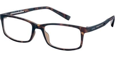 Dioptrické brýle Esprit model 17567, barva obruby hnědá mat, stranice hnědá mat, kód barevné varianty 545.