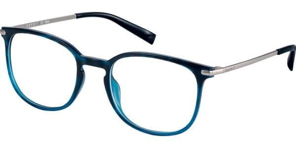 Dioptrické brýle Esprit model 17569, barva obruby modrá černá lesk, stranice stříbrná černá lesk, kód barevné varianty 543.