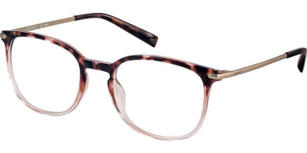 Dioptrické brýle Esprit model 17569, barva obruby hnědá čirá lesk, stranice bronzová mat, kód barevné varianty 545.