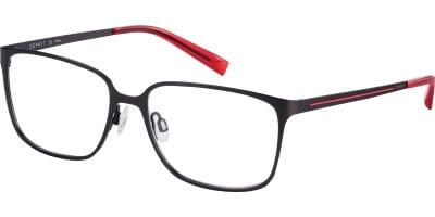 Dioptrické brýle Esprit model 17571, barva obruby hnědá mat, stranice hnědá červená mat, kód barevné varianty 535.