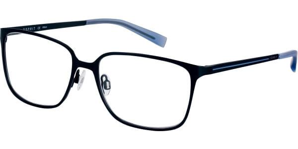 Dioptrické brýle Esprit model 17571, barva obruby černá mat, stranice černá modrá mat, kód barevné varianty 538.