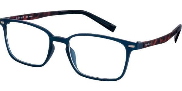 Dioptrické brýle Esprit model 17572, barva obruby modrá mat, stranice hnědá mat, kód barevné varianty 508.