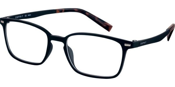 Dioptrické brýle Esprit model 17572, barva obruby černá mat, stranice černá hnědá mat, kód barevné varianty 538.