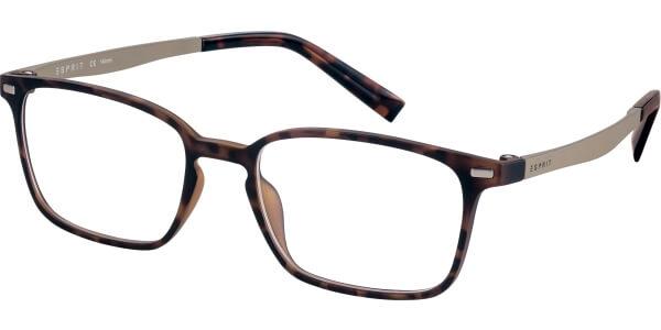 Dioptrické brýle Esprit model 17572, barva obruby hnědá mat, stranice šedá mat, kód barevné varianty 545.