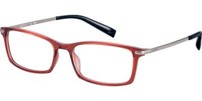 Dioptrické brýle Esprit model 17573, barva obruby červená lesk, stranice stříbrná lesk, kód barevné varianty 531.