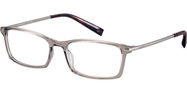 Dioptrické brýle Esprit model 17573, barva obruby hnědá čirá lesk, stranice stříbrná mat, kód barevné varianty 535.