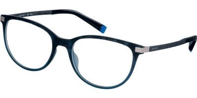 Dioptrické brýle Esprit model 17576, barva obruby modrá mat, stranice modrá mat, kód barevné varianty 543.