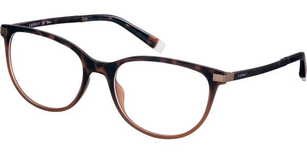 Dioptrické brýle Esprit model 17576, barva obruby hnědá mat, stranice hnědá mat, kód barevné varianty 545.
