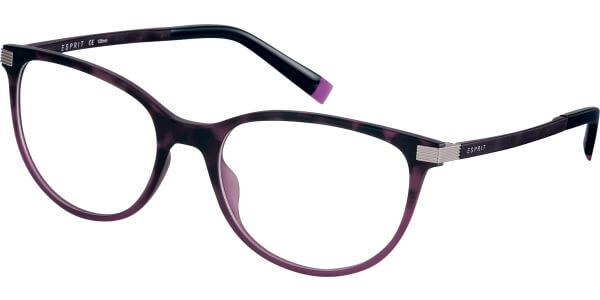 Dioptrické brýle Esprit model 17576, barva obruby fialová mat, stranice fialová mat, kód barevné varianty 577.