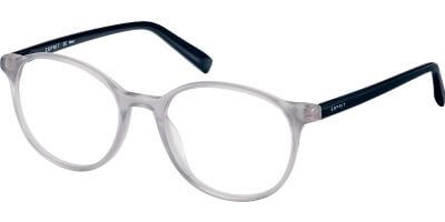 Dioptrické brýle Esprit model 17588, barva obruby šedá čirá lesk, stranice černá lesk, kód barevné varianty 505.
