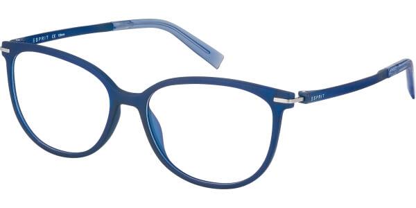 Dioptrické brýle Esprit model 17590, barva obruby modrá mat, stranice modrá mat, kód barevné varianty 543.