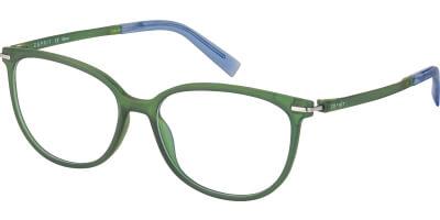 Dioptrické brýle Esprit model 17590, barva obruby zelená mat, stranice zelená mat, kód barevné varianty 547.
