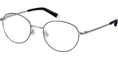 Dioptrické brýle Esprit model 17595, barva obruby černá stříbrná lesk, stranice stříbrná lesk, kód barevné varianty 538.