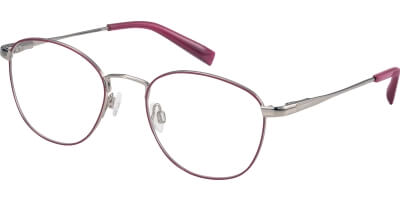 Dioptrické brýle Esprit model 17596, barva obruby růžová stříbrná lesk, stranice stříbrná lesk, kód barevné varianty 515.