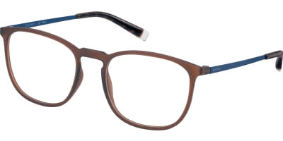 Dioptrické brýle Esprit model 33400, barva obruby hnědá mat, stranice modrá mat, kód barevné varianty 535.