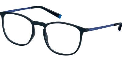 Dioptrické brýle Esprit model 33400, barva obruby černá mat, stranice modrá mat, kód barevné varianty 538.