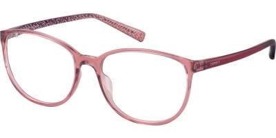 Dioptrické brýle Esprit model 33409, barva obruby červená čirá lesk, stranice červená lesk, kód barevné varianty 513.
